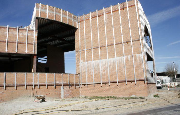 Edificio en construccion Horta