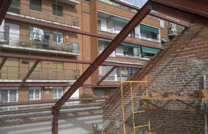 cubierta canillejas vivienda unifamiliar