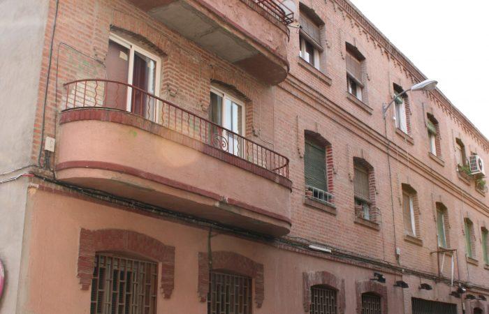 fachada rehabilitacion Vallecas
