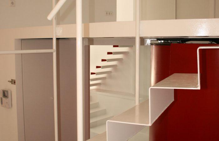 Loft esfinge interiorismo salon moderno